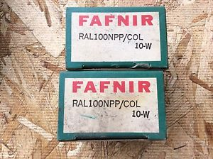 high temperature 2-FAFNIR-Bearings, Cat#RAL100NPP/COL 10-w ,comes w/30day warranty, free shipping