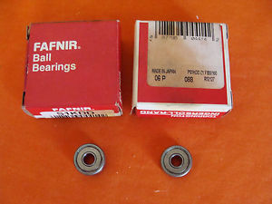 high temperature  OLD STOCK  FAFNIR S1KDD DEEP GROOVE RADIAL BALL BEARING LOT OF 2