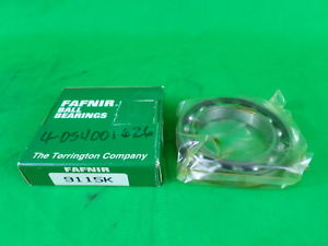 high temperature Fafnir 9115K Deep Groove Ball Bearing