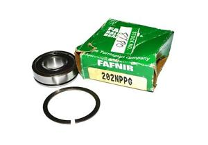 high temperature  FAFNIR 202NPPG BALL BEARING METAL SHIELDED WITH CLIP 15MM X 35MM X 11MM
