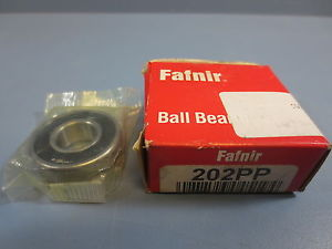 high temperature 1 Nib Fafnir Torrington 202PP 202-PP Single Row Ball Bearing