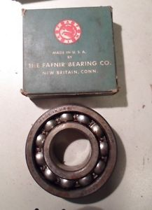 "high temperature New in Box Fafnir Thrust Ball Bearings 7307W 1 3/8"" New Old Stock NIB NOS"