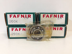 high temperature LOT (4)  IN BOXES! FAFNIR BALL BEARINGS 200K