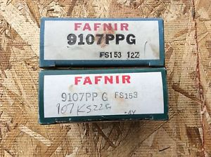high temperature 2-FAFNIR-Bearings, Cat#9107PPG ,comes w/30day warranty, free shipping