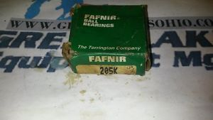 high temperature Torrington Fafnir Ball Bearing 205K