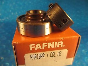 high temperature Fafnir RA010RR COL AG, RA010 RR COL AG, Wide Inner Ring Ball Bearing