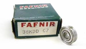 high temperature  FAFNIR 38KDD SHIELDED BALL BEARING 8 MM X 22 MM X 7 MM