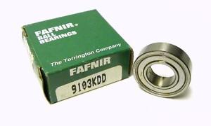 high temperature  FAFNIR 9103KDD SINGLE ROW BALL BEARING 17 MM X 35 MM X 10 MM (2 AVAILABLE)