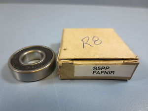 "high temperature 1 Nib Fafnir S5PP Double Sealed Ball Bearing Bore 1/2"" OD 1 1/8"" Width 5/16"""