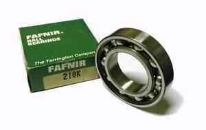 high temperature  FAFNIR 210K SINGLE ROW BALL BEARING 50 MM X 90 MM X 20 MM (4 AVAILABLE)