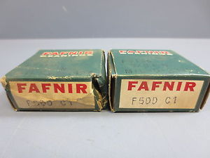"high temperature Lot of 2 Nib Fafnir F5DD C1 Deep Groove Ball Bearing Bore 5/16"" OD 0.6882 W 1/4"""