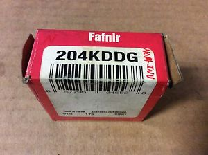 high temperature FAFNIR bearings# 204KDDG  ,Free shipping to lower 48, 30 day warranty
