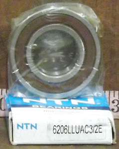 high temperature 1  NTN 6206LLUAC3/2E BALL ROLLER BEARING ***MAKE OFFER***