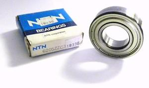 high temperature  NTN 6205ZZC3 RADIAL BALL BEARING 25 MM X 52 MM X 15 MM (2 AVAILABLE)