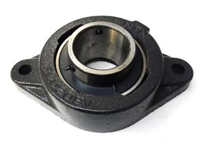 "high temperature NTN MOUNTED BALL BEARING FLU209V, 1-3/4"" BORE, 2 BOLTS, STANDARD DUTY, CAST IRON"