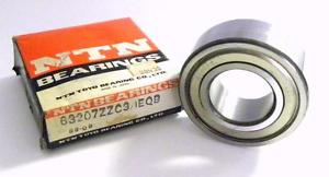 high temperature  NTN 63207ZZC3 CARTRIDGE BALL BEARING 35 MM X 72 MM X 27 MM (5 AVAILABLE)