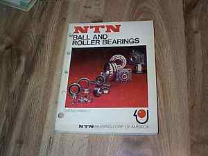 high temperature NTN Ball And Roller Bearings Catlaog No A1000–II   ILLUS 1977