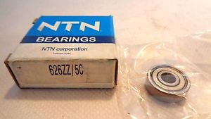 high temperature  IN BOX NTN 626ZZ/5C  BALL BEARING