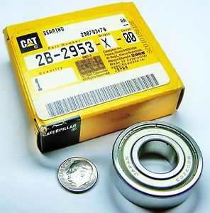 high temperature CATERPILLAR NTN 2B2953  BALL BEARING SEALED ONE SIDE 17MM ID 40MM OD 12MM W