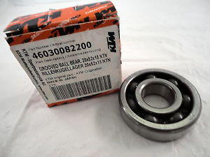 high temperature NOS KTM  GROOVED BALL BEARING 20X52X1 NTN  SX 60 65 1998 1999 2000   46030082200