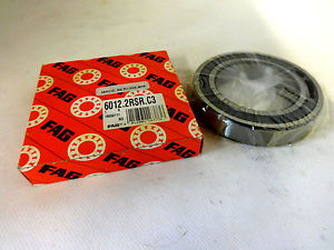 high temperature  IN BOX FAG 6012-2RSR-C3 BALL BEARING