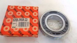 high temperature  IN BOX FAG 6208.2RSR.C3 SEALED BALL BEARING
