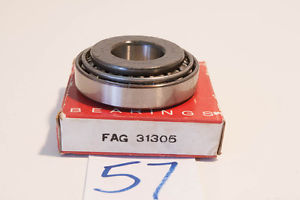"high temperature ""  OLD"" Consolidated / FAG Taper Ball Bearing FAG 31305 old# 27305E"
