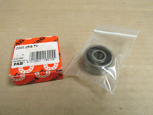 high temperature NIB FAG 2202RSTV SELF ALIGNING BALL BEARING 2200 2RS TV 22002RS TV10x30x14 mm