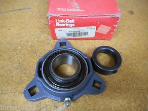 """high temperature Link-Belt Bearings FWG219E GVFD 1-3/16"""" Flange Bearing With Collar New"""