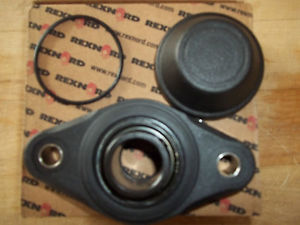 "high temperature  IN BOX REXNORD / LINK-BELT KFXS216 KLEAN-GARD /  1""  2 BOLT FLANGE BEARING"