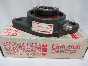 "high temperature  LINK BELT 2 BOLT FLANGE BEARING FX3-U216H FX3U216H 1"" BORE"