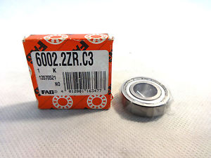 high temperature  IN BOX FAG 6002-2ZR.C3 BALL BEARING