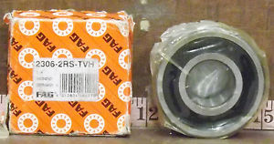 high temperature 1  FAG 2306-2RS-TVH SELF ALIGNING DOUBLE ROW BALL BEARING ***MAKE OFFER**