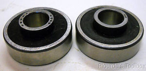 high temperature Lot of (2) New FAG-Norma 10mm Radial Ball Bearings, Shielded and Sealed, 87500
