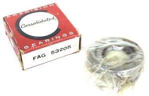 high temperature NIB CONSOLIDATED FAG 53205-U THRUST BALL BEARING 53205U