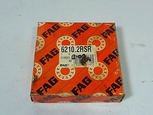 high temperature FAG 6210-2RSR Ball Bearing !  !