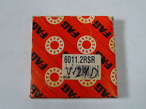 high temperature FAG 6011-2RSR Double Sealed Ball Bearing !  !