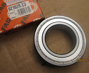 high temperature FAG Single Sealed Side Radial Roller Ball Bearing 6210ZR.C3 6210ZRC3 6210 C3 New