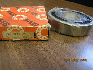 high temperature  FAG DEEP GROOVE BALL BEARING 6209 2RSR C3 L12 62092RSRC3L12