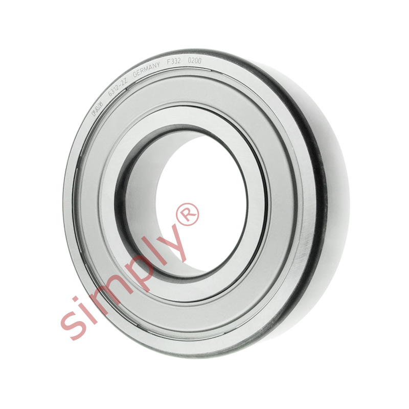 high temperature FAG 63122Z Metal Shielded Deep Groove Ball Bearing 60x130x31mm