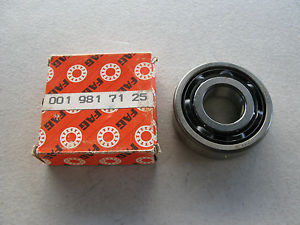 high temperature LOTS OF 2 FAG BALL BEARING FOR MERCEDES (#001 981 71 25)