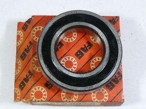 high temperature FAG 6211-2RSR-C3 Ball Bearing Deep Groove 1 Row Sealed 55X100X21mm !  !