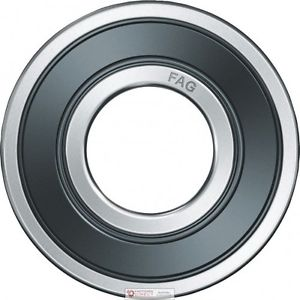high temperature FAG 6012 2RSR.C3 Radial Deep Groove Ball Bearing 60mm ID 95mm OD 18mm Width