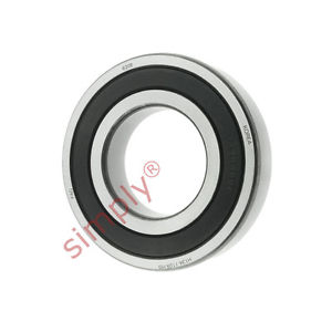high temperature FAG 62082RSR Rubber Sealed Deep Groove Ball Bearing 40x80x18mm