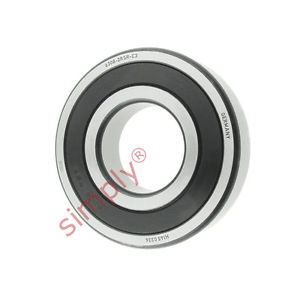 high temperature FAG 63082RSRC3 Rubber Sealed Deep Groove Ball Bearing 40x90x23mm