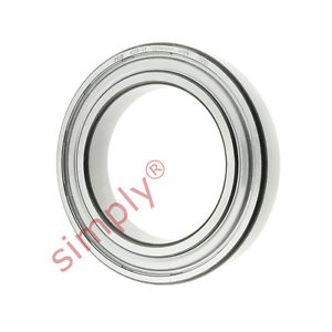 high temperature FAG 60132Z Metal Shielded Deep Groove Ball Bearing 65x100x18mm
