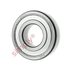 high temperature FAG 63082ZC3 Metal Shielded Deep Groove Ball Bearing 40x90x23mm