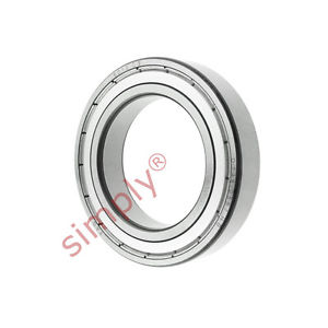 high temperature FAG 60102ZC3 Metal Shielded Deep Groove Ball Bearing 50x80x16mm