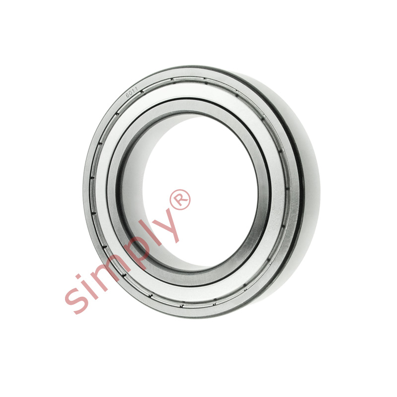 high temperature FAG 60112Z Metal Shielded Deep Groove Ball Bearing 55x90x18mm