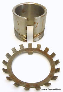 """high temperature Link-Belt Bearing Adapter Sleeve 1-3/4SNW10 1-3/4""""-L 2-1/16""""-OD 1-3/4""""-ID **"""